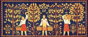 «Український килим» – мистецька династія величного роду Саєнків