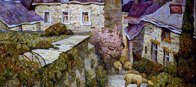 Артем Толстухін з виставками живопису «Морські канікули» та «Роза вітрів» в Харкові