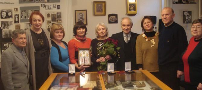 Урочисте нагородження до 20-ї річниці Харківського музею Голокосту