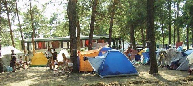 Наметовий табір на Голубих озерах